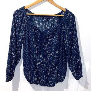 American Eagle Outfitters Vintage Floral Top M